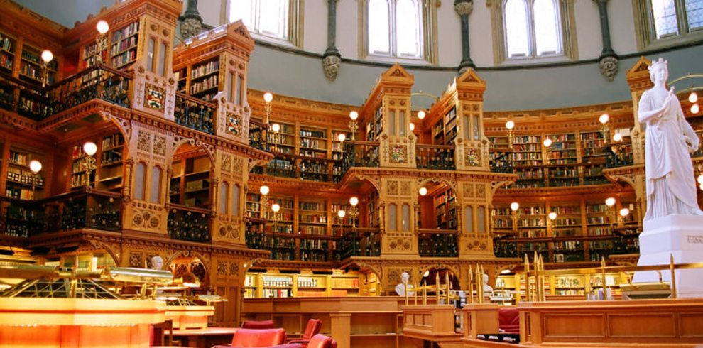 library-of-the-canadian-parliament-ottawa-canada