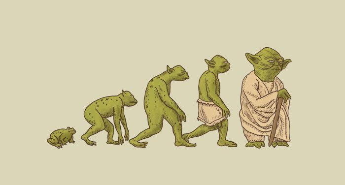 7-hilarious-illustrations-show-the-paradoxe-of-evolution