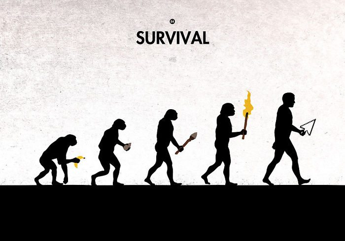 8-hilarious-illustrations-show-the-paradoxe-of-evolution