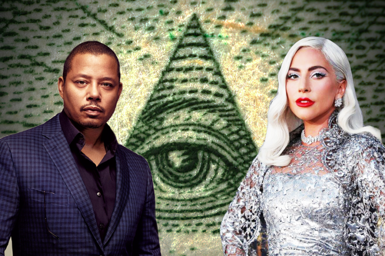 Lady Gaga and Terrance Howard.