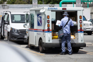 Mail Carrier worker.